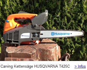 HUSQVARNA Carving Kettensäge