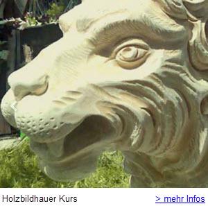Holzbildhauer Kurs Jochen Schweizer